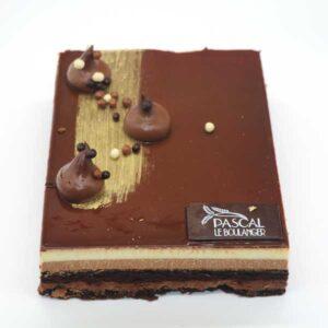 Gateau aux trois chocolats de Pascal Le boulanger