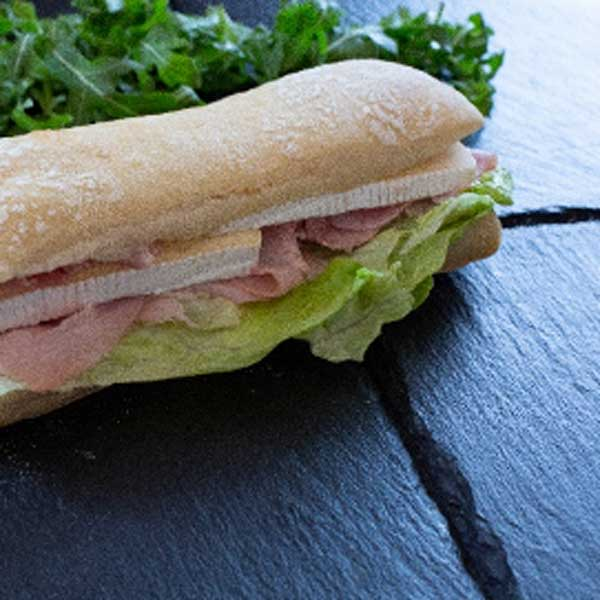 sandwich jambon brie boulangerie
