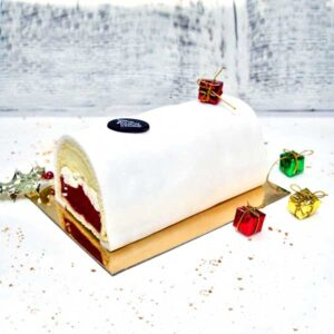 Buche Glacée vanille Framboises