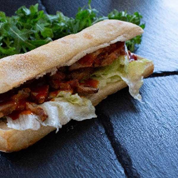 sandwich cochon et bbq