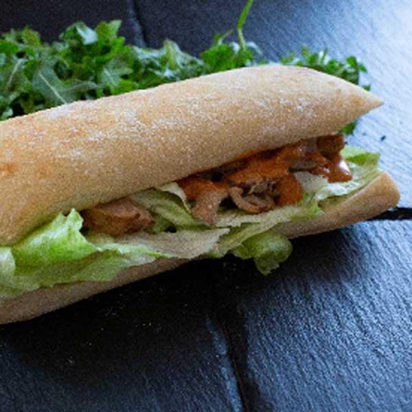 Sandwich poulet Texmex