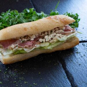 Sandwich Proscuito chèvre