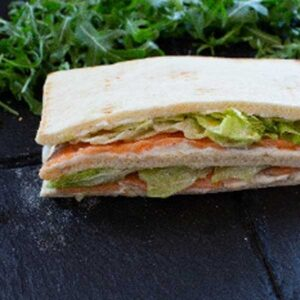 Sandwich au saumon boulangerie